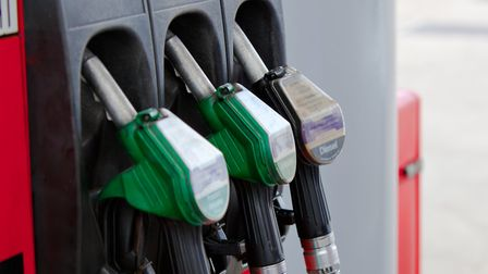 Close up of fuel pumps in a petrol station;. Picture: Getty Images/iStockphoto