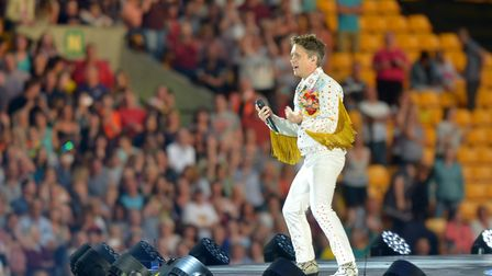 Take That perform Wonderland concert at Carrow Road**Pictures cannot be useed after 5th Novemeber 20