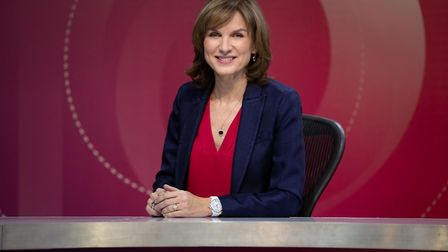 Fiona Bruce will be hosting BBC Question Time at Thetford Academy on June 6. Picture: BBC