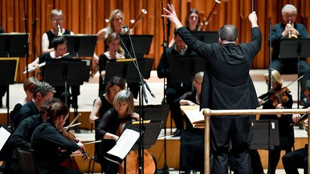 Britten Sinfonia performed Beethoven's ninth symphony on the closing weekend of the Norfolk & Norwic