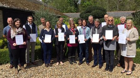 Delegates at the first of the YANA mental health first aid courses funded by The Prince's Countrysid