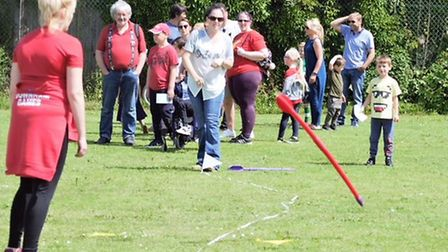 Young people enjoy last year's Downham Market Games Picture: Bennys Photography
