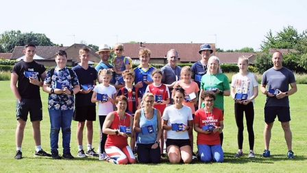 Some of the medal winners from last year's event Picture: Bennys Photography