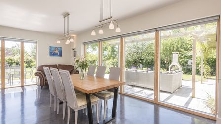The property has achieved an 'A' rating for energy efficiency. Picture: Warners