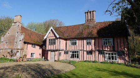 Monks Hall estate near Diss which is for sale. Pic: Clarke & Simpson.