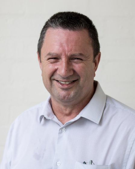 Keiron Coombs, Poppy Factory employability consultant for the East of England who helped him Wisbech
