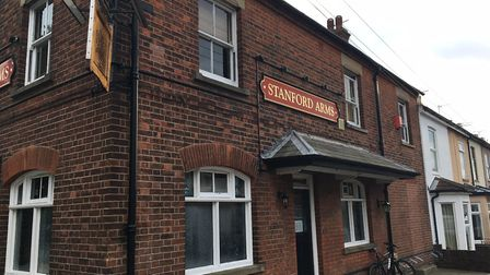 The Stanford Arms pub in Lowestoft. Photo: James Carr.
