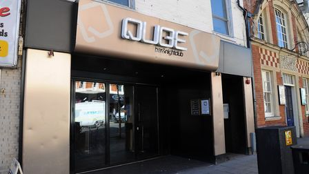 Qube Bar and Nightclub, Prince of Wales Road, Norwich. Picture: Denise Bradley