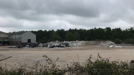 The Lenwade industrial estate site, off Norwich Road. Photo: Archant