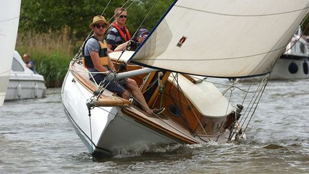 Action from the Three Rivers Race. Picture: Neil Foster Photograph