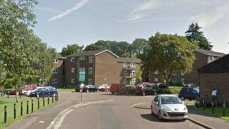 Officers were called to Dolphin Grove in Norwich following reports of a disturbance. Photo: Google