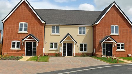 Some of the new homes at Reydon. Pictures: Newman Associates PR