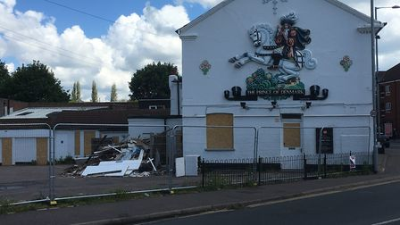The Prince of Denmark pub on Sprowston Road. Picture: Archant