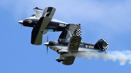 The Wildcat Formation Display Team are going to be performing for Norfolk Day. Picture; John Allan