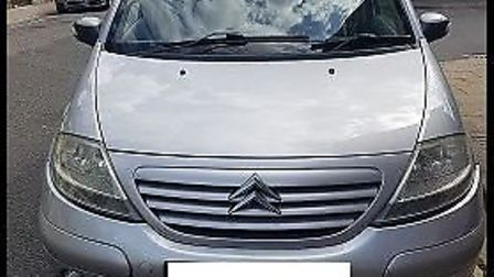 Lowestoft police said a silver Citroën had been seized in the High Street area of Lowestoft as the m
