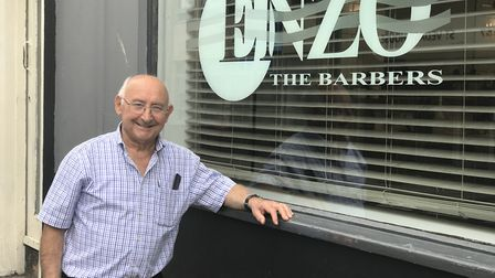 After 50 years in the barbershop business in Norwich Enzo Cassale is retiring. Picture: Victoria Per