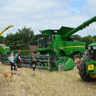 Farms across Norfolk will be taking part in Open Farm Sunday on June 9. Pictured: Scenes from last y