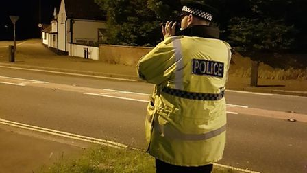 Police carried out speed checks in south Norfolk. Pic: Norfolk Constabulary