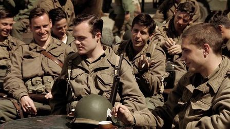 Michael Fassbender (left) and Tom Hardy (right) were two members of the Band of Brothers ensemble ca