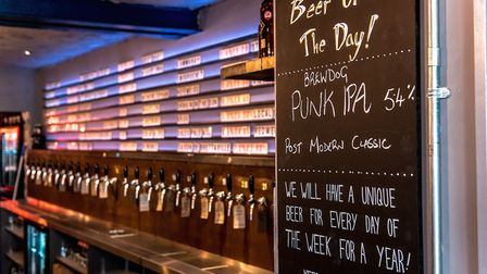 The inside of BrewDog in Norwich. Photo: Michael James Photo / Mike Norman