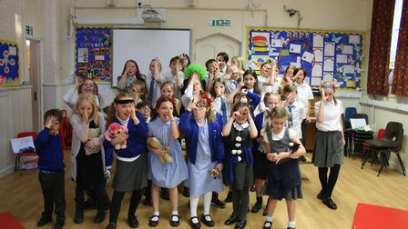 Bramfield Primary School's Musical Theatre Club staged a 30 minute production of Tim Minchin's West