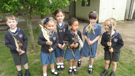 Langley Preparatory School at Taverham Hall's Reception's Forest School lessons and Pre-Prep after s