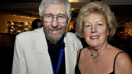 Roy and Beryl Blower pictured to 2015. Pic: Archant Library.