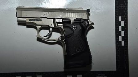A weapon recovered by NCA. Picture: NCA