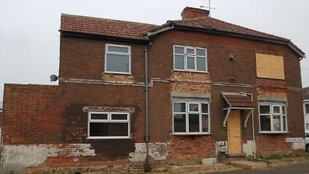 The house in Maidstone Road, Lowestoft that sold at auction. Picture: Auction House East Anglia