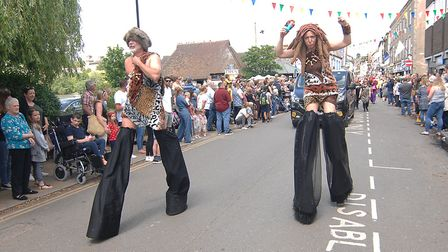 Scenes from Diss Carnival, 2019 Picture: Chris Bishop
