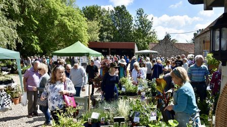 Thousands turned out for the Creake Abbey Plant Lovers' Day. Picture: Creake Abbey