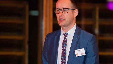 Norwich City College deputy principal Jerry White. Picture: Keith Whitmore