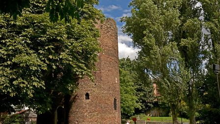 Cow tower, riverside, cathedral