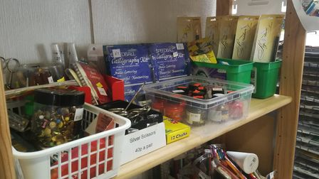 Scrapbox in Reepham, is helping to promote awareness of reusing unwanted materials. Picture: DONNA-L