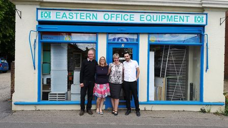 Eastern Office Equipment in Dereham will soon close following its owner's decision to retire. Pictur