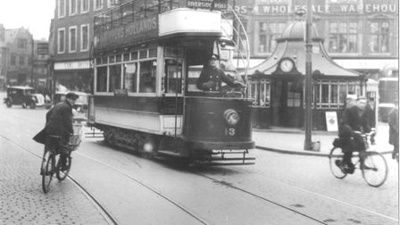 Norwich tram. Photo: Archant Library