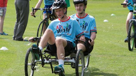 The Discover Your Ability sports day, organised by fitness-based community interest company Able2B a