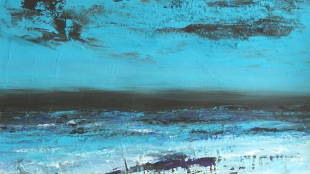 Sea and Sky, Norfolk Coast by Martin Laurance of the Norwich 20 Group