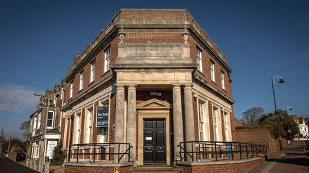 The former Natwest Bank in Hunstanton, which has been converted into a heritage centre Picture: Chr