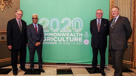 The Commonwealth Agriculture Conference will be held in Norfolk in 2020. Pictured from left are Mich