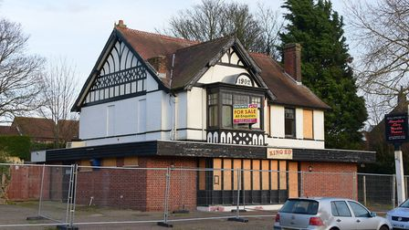 The King Edward VII pub on Aylsham Road, Norwich, the site of a new mosque. This picture was taken w