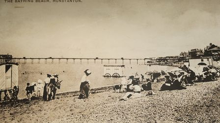 A Victorian view of the beach Picture: Chris Bishop