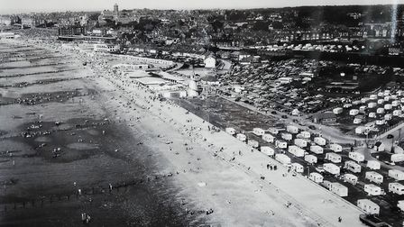 An aerial view of the Prom in 1961, donated by Michael Meakin Picture: Chris Bishop