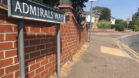 Admirals Way, Thetford, where Rolands Heinbergs was arrested for being in possession of knives in Ma