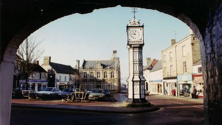 Downham Market Clock and Town Hall. Picture: Archant Library