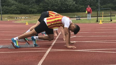 Action from the Norfolk Schools Athletics Championships last weekend. Picture: Victoria Pertusa