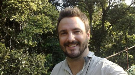Dr Alexander Brown from UEA''s School of Politics, Philosophy, Language and Communication Studies. P