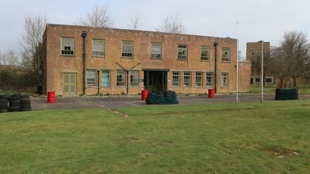 The former hospital at theWest Raynham Business Park, which is one of the lots that are being auctio
