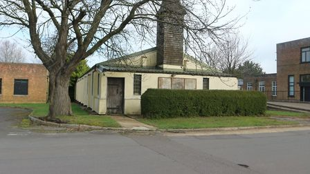 The former chapel at theWest Raynham Business Park, which is one of the lots that are being auctione