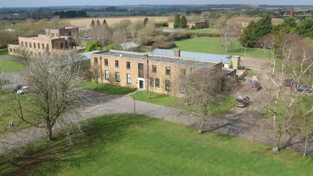 Much of the West Raynham Business Park is to be auctioned off as 44 seperate lots. Pictured is the m
